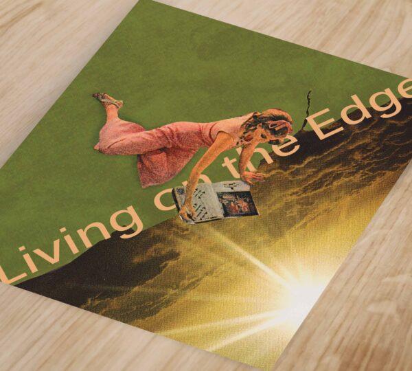 Social Living - Living on the edge_ Art Print_small